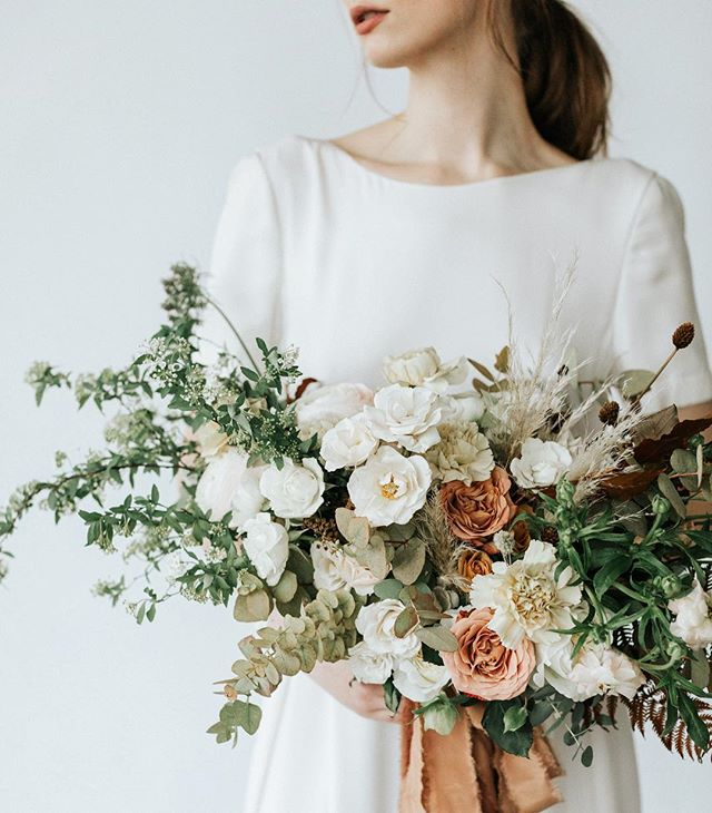 Florals are so much more than a checklist item or accessory for your nuptials - like this magic by the lovely @watershedfloral ✨ . . . Shot from our talented team: @scalesrestaurantportland  @byemilyb  @jenniexross  @tonoandco  @autumnnomad  @ceremony_boston  @makingfacesweddings  @jadelongfellowstylist @ohjoycalligraphy  @campfirestudios