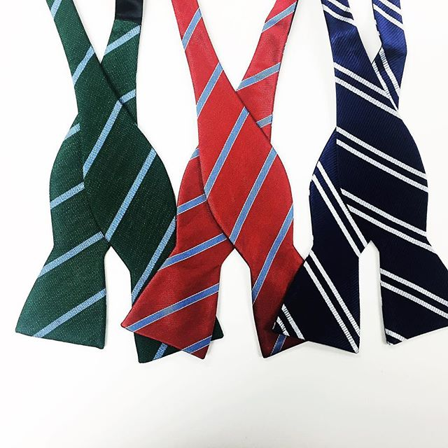 We have a huge tie & bow tie  selection in store!