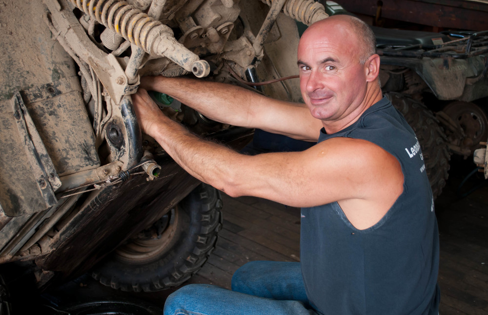 Jimmy Robichaud (Mechanic) Marine Specialist