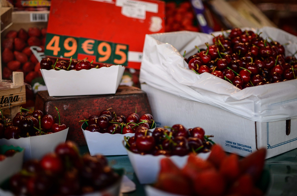 Food & Lifestyle photography in a Paris Market