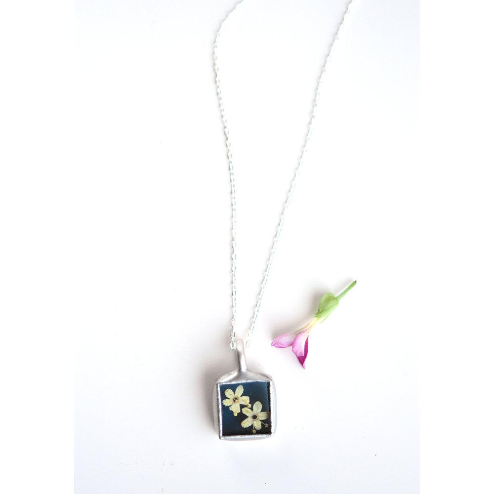 Pressed Plant Jewelry