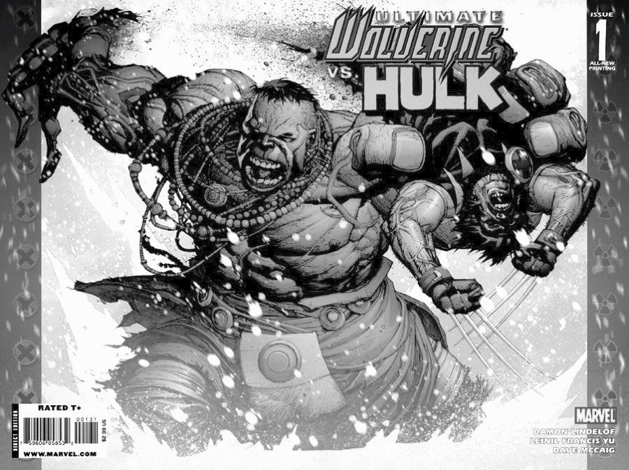 Ultimate Wolverine Vs. Hulk. Photo from Marvel (Fair Use: Comic Covers)