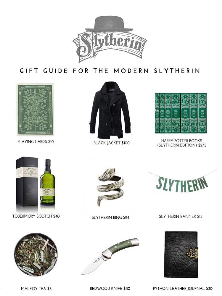 Slytherin Gift Guide for Harry Potter Fans, Pre Cursed Child Release 7/30