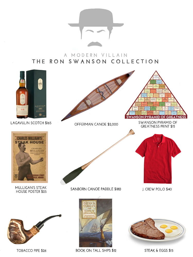 The Ron Swanson Collection: A Gift Guide for fans of Parks & Recreation on NBC + Netflix