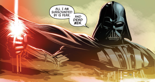 Darth Vader All I Am Is Surrounded By Fear And Dead men Quote