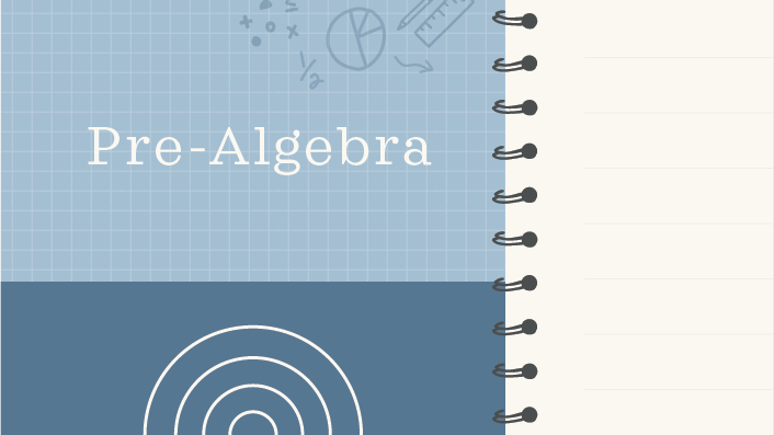 Pre-algebra course