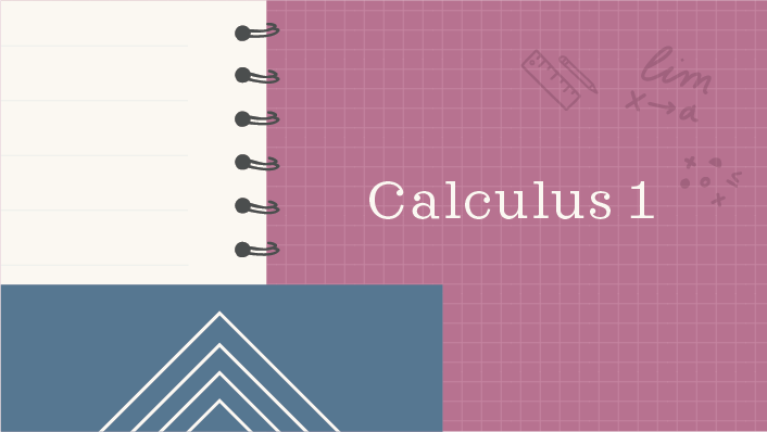 Calculus 1 course