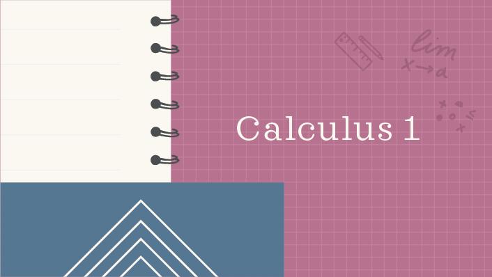 Calculus 1 course