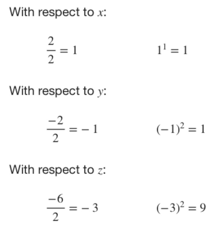 center, radius, equation of the sphere