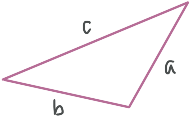 Pythagorean inequality for obtuse triangles