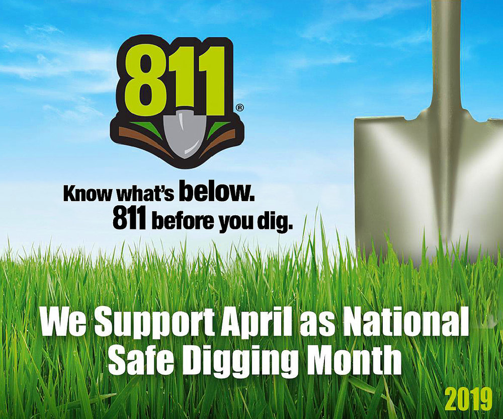 Visit our toolkit for items that you can use to help get the word out about 811! Click the graphic.