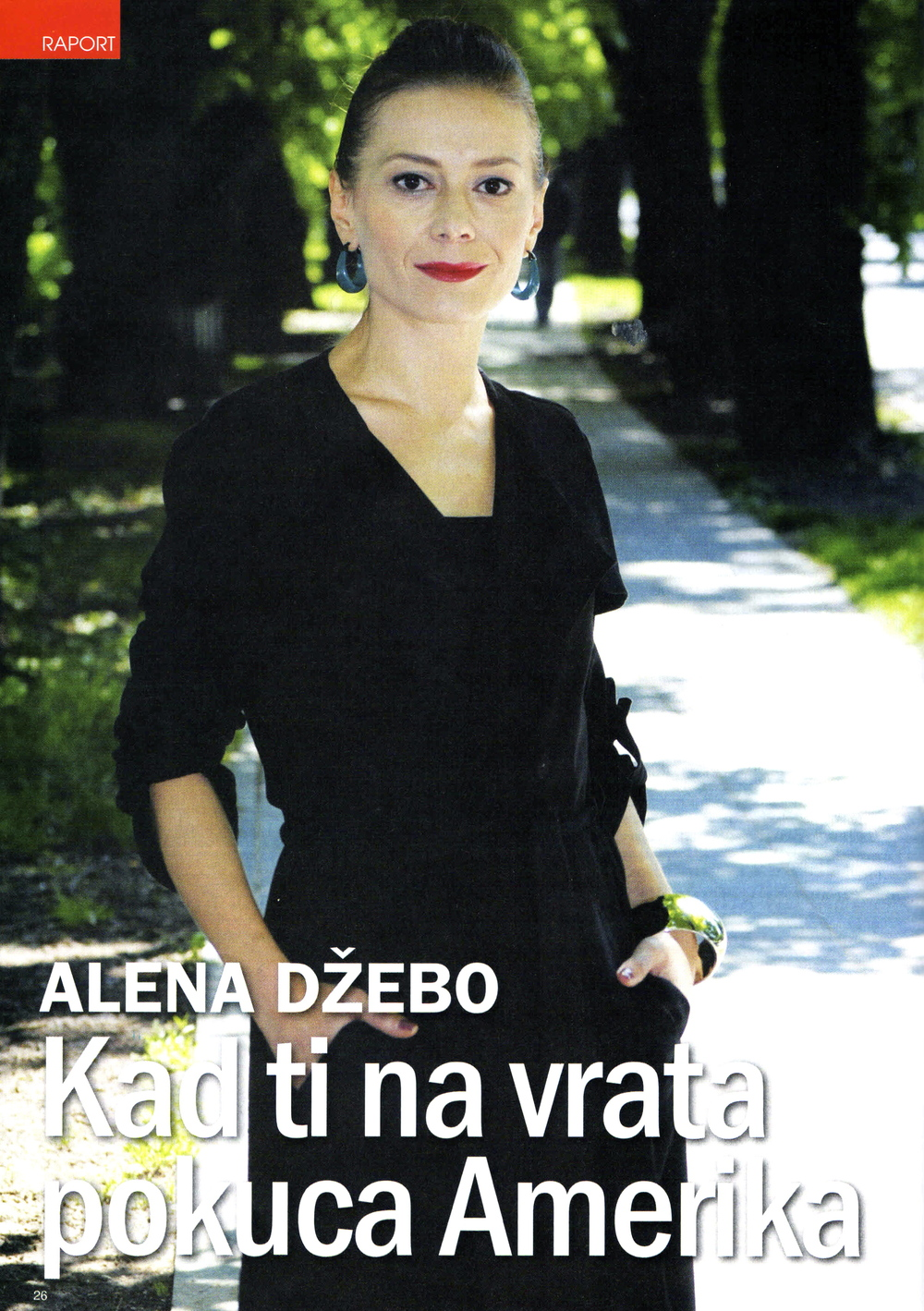 """When America Knocks on Your Door""  By Živana Jovančić,  May 23, 2014.  Published by Gracija."