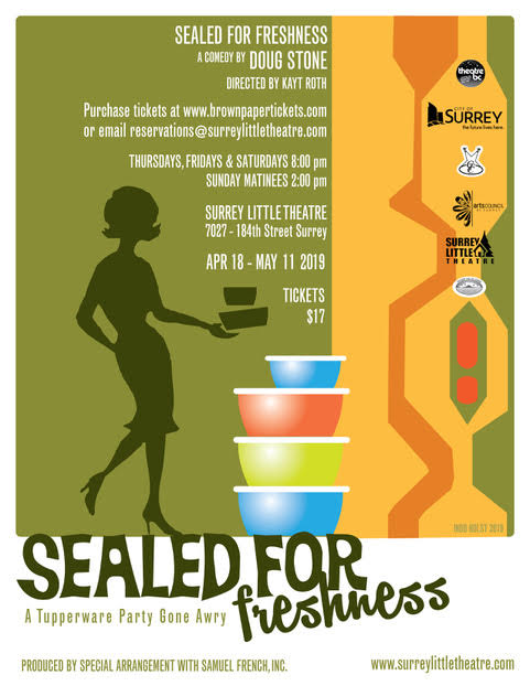 Purchase single-show tickets to Sealed for Freshness.