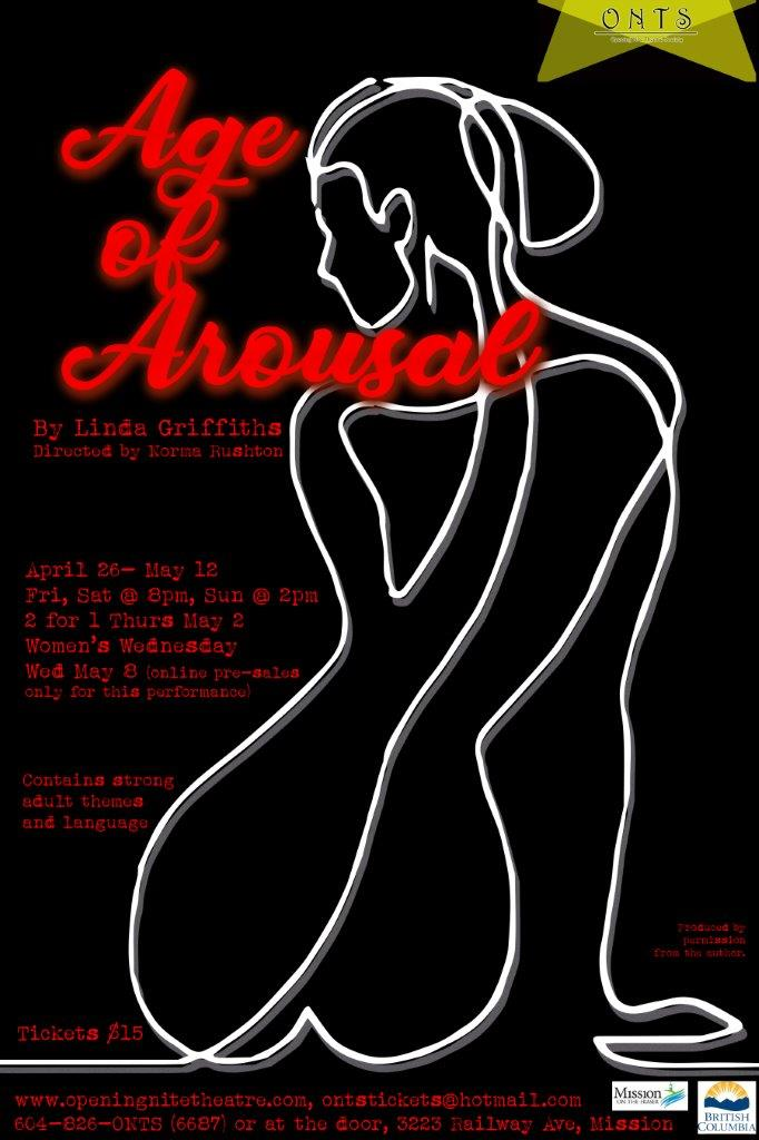 Purchase single-show tickets for Age of Arousal.