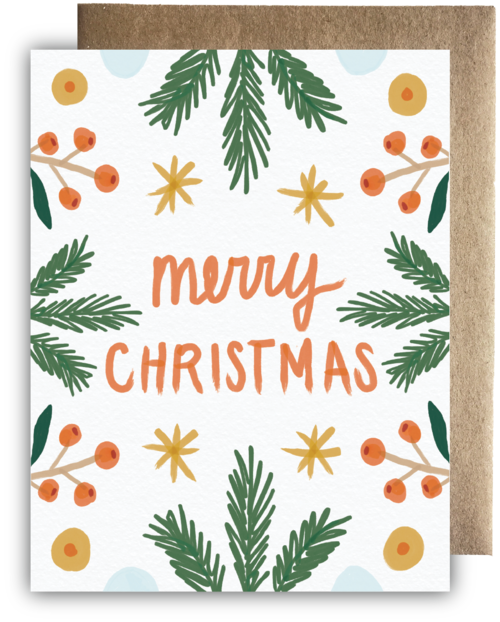 merry christmas card - Merry Merry Merry Christmas