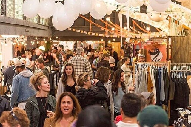 Mark your calendars for this fall's @portlandnightmarket at the amazing @customblocks space! October 12-13th! We're so excited ✨✨✨