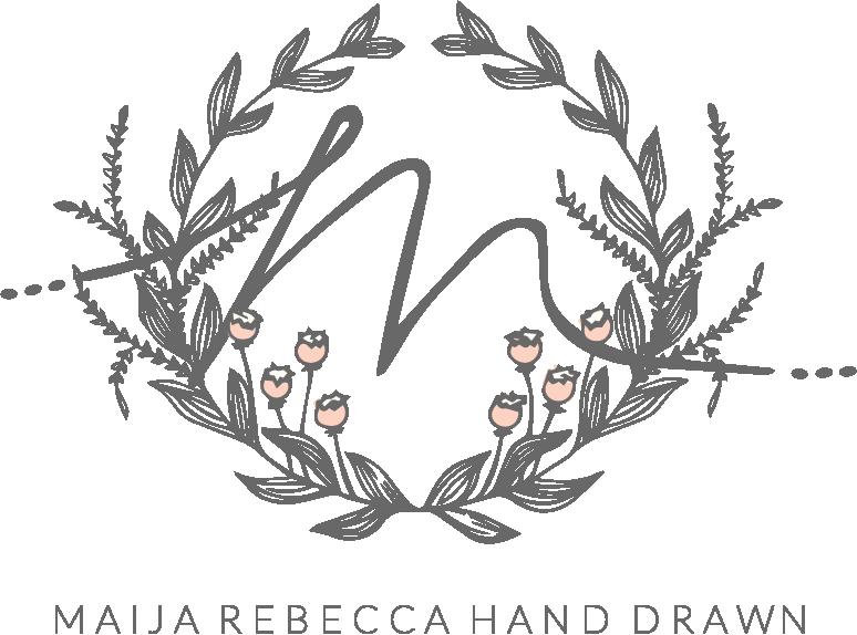maija rebecca hand drawn