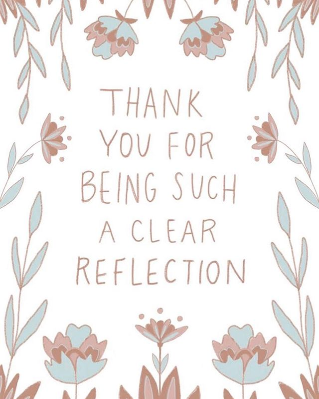 Feeling grateful for the relationships in my life that hold me accountable and support me through this journey being human. It can be rough sometimes.