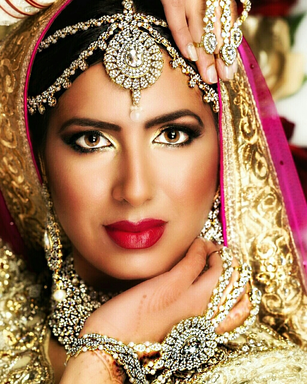 Indian makeup and hair by Pro Makeup by Natasha photography by Asif Raza and wardrobe from Nor Bollywood    Open booking for 2016  Please check if your wedding day is still available with us by emailing us at natasha@promakeupbynatasha.com