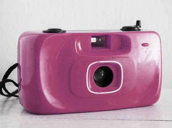 """Where it all began for Caitlin...""""and on Christmas Day I found a pink plastic camera under the tree. It wasn't something that was even on my list, but I took my first shot with it and was hooked."""""""