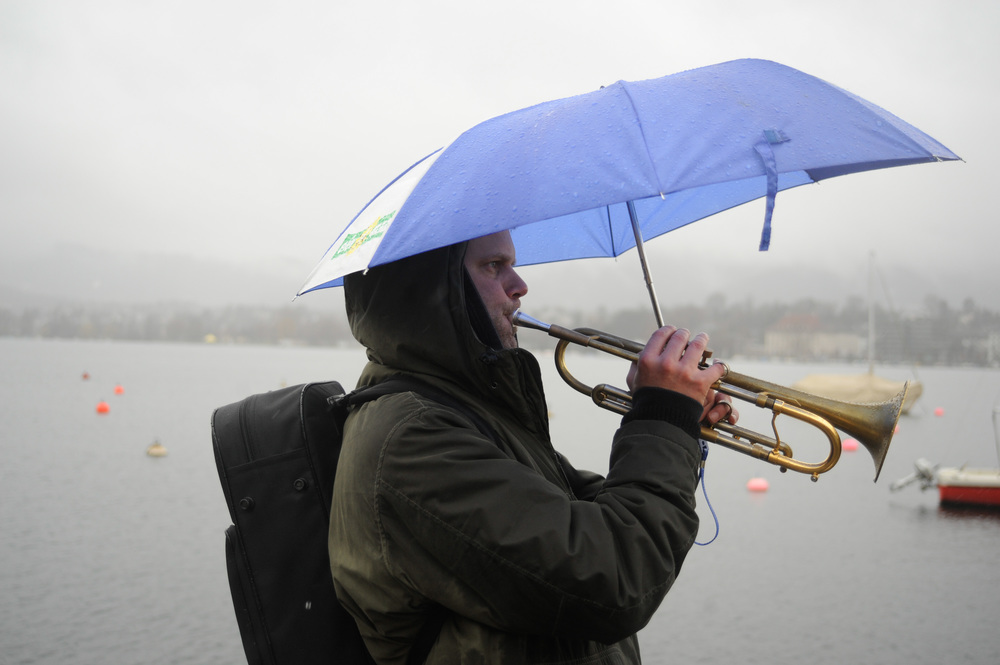 Trumpet City: Zurich  Photo by Palma Fiacco
