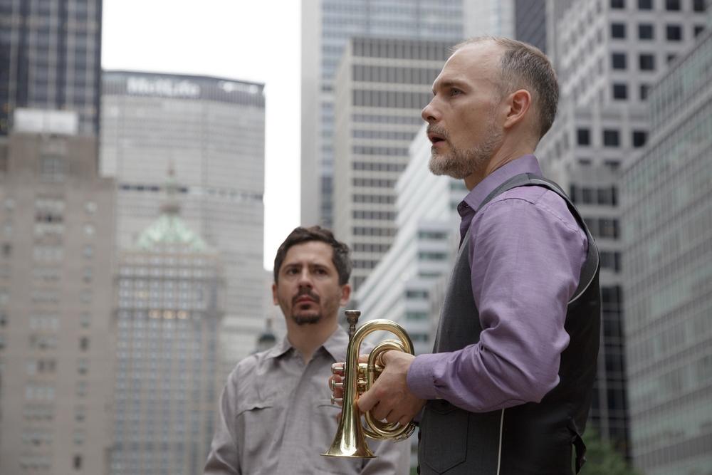 Eric Biondo (L), Craig Shepard (R)