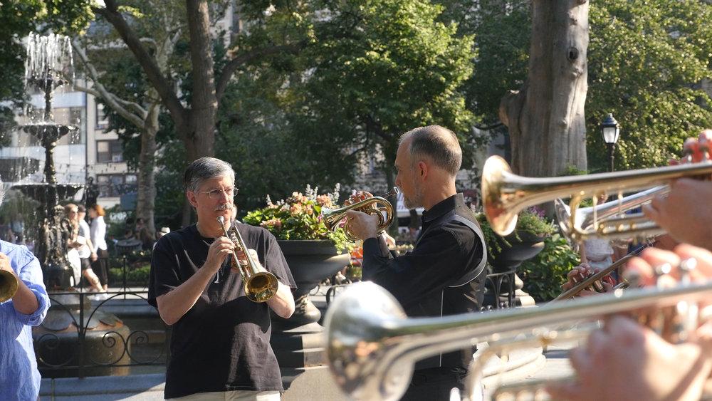 Trumpet Circle
