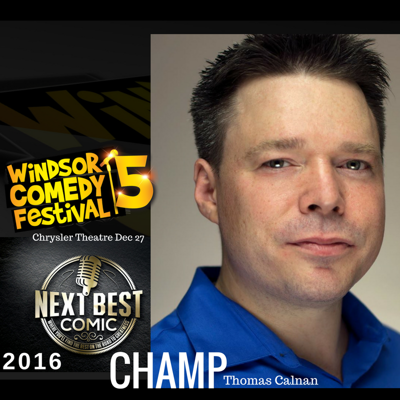 Winner of the 2016 Windsor Comedy Fest, and featured on CBC radio's Laugh Out Loud, Thomas Calnan has been performing stand-up for the past six years and has entertained literally dozens of people across Ontario.  He has been described as 'somewhat amusing' and 'not terrible' by people he has talked to after shows.  He was described as 'hilarious' and 'the most under-rated comic ever' by a producer he got drunk one night. Through his steady work ethic, great writing, and a seemingly unending supply of compromising photographs of every comedy producer in Canada, Thomas is definitely someone you can expect to hear more about in the future