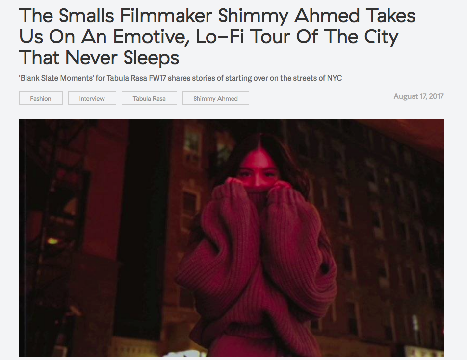 Shimmy Ahmed takes us on a lo-fi tour of the city that never sleeps