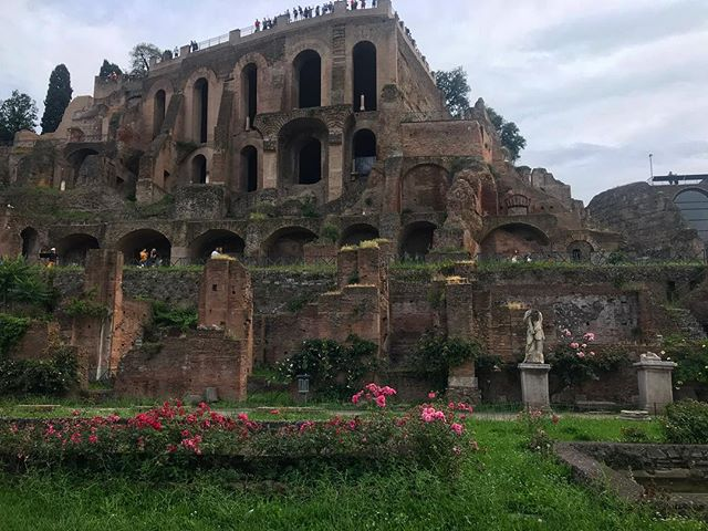 Listening to Wonders of the World podcast on the Roman Forum and reminiscing #roadtrip #romanforum #italy