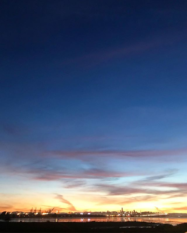 😍😍😍 #sanfrancisco #cityscape #sunset