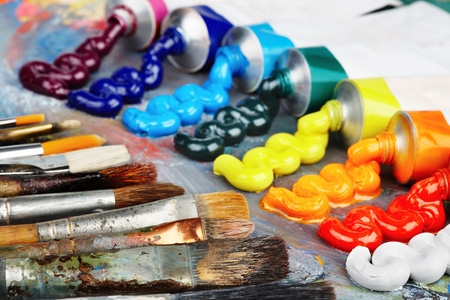 art class paint brushes & paint.jpg