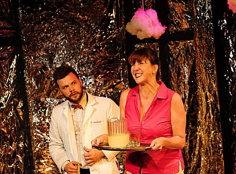 Director  Sad Happy Sucker  Trap Door Theatre  Photo: Chris Popio