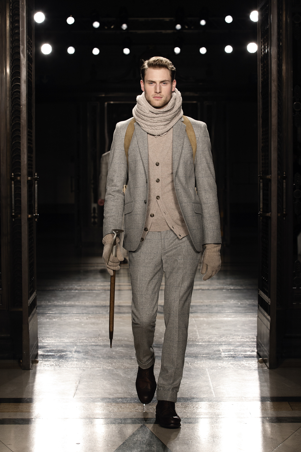 A look from the AW14 Hackett show