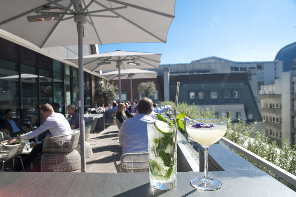 Angler rooftop terrace discover escape for 211 roof terrace cafe