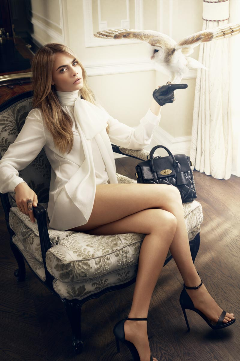 Cara Delevingne Mulberry Collection September 2014 Discover and Escape