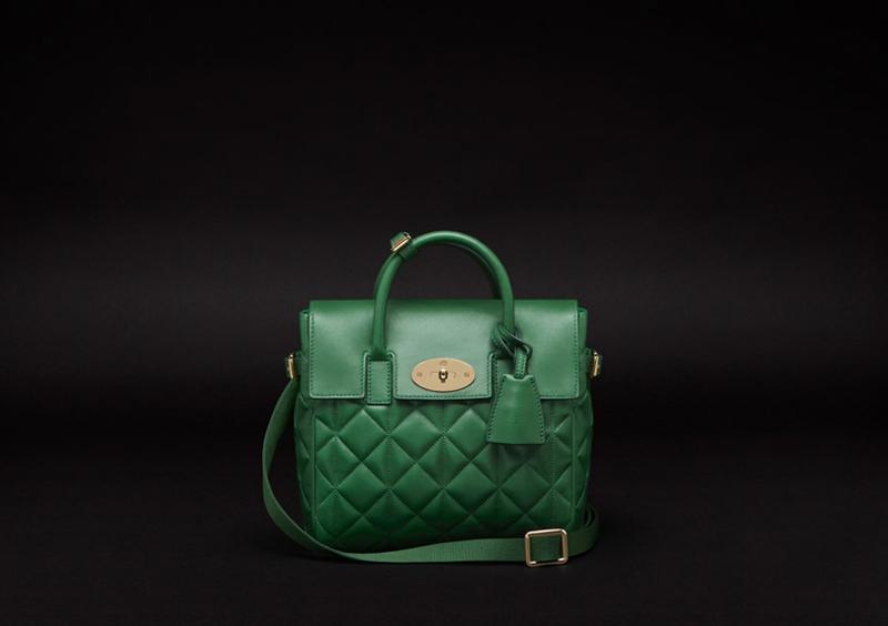 Cara Delevingne Bag in Delevingne Green Quilted Nappa.jpg