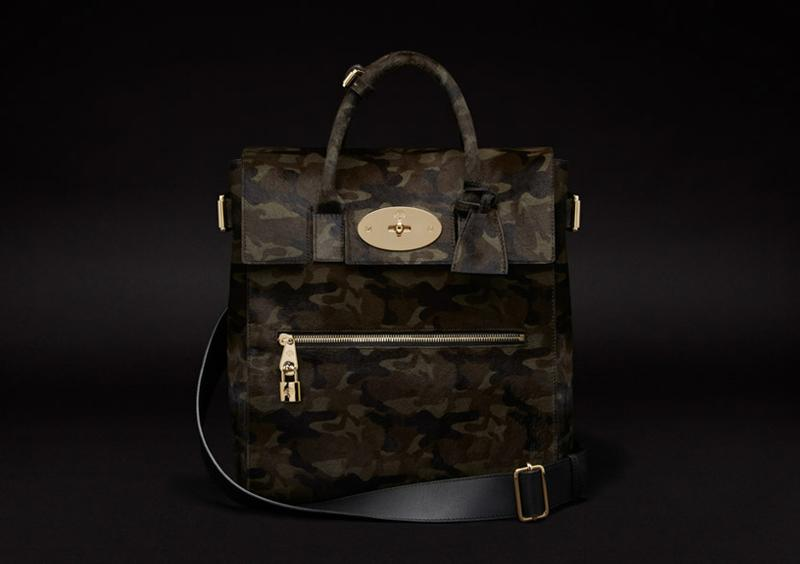 Large Cara Delevingne Bag in Khaki Camouflage Haircalf.jpg