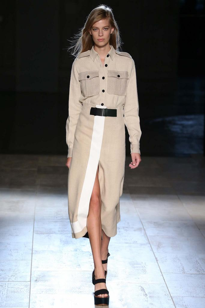 Victoria Beckham SS15 NYFW Discover and Escape
