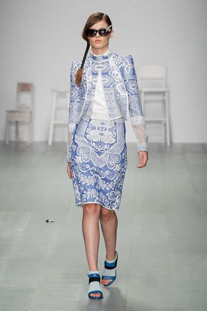 Bora Aksu SS15 LFW Discover and Escape Review