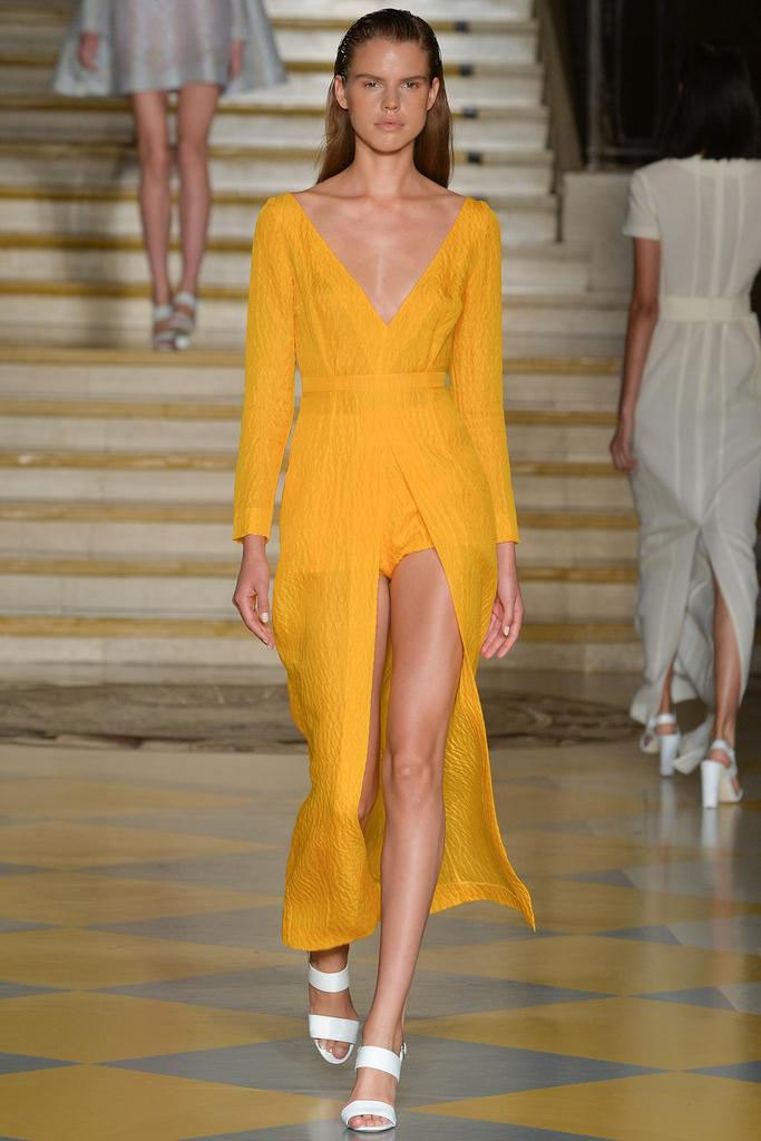 Emilia Wickstead SS15 LFW Discover and Escape Review
