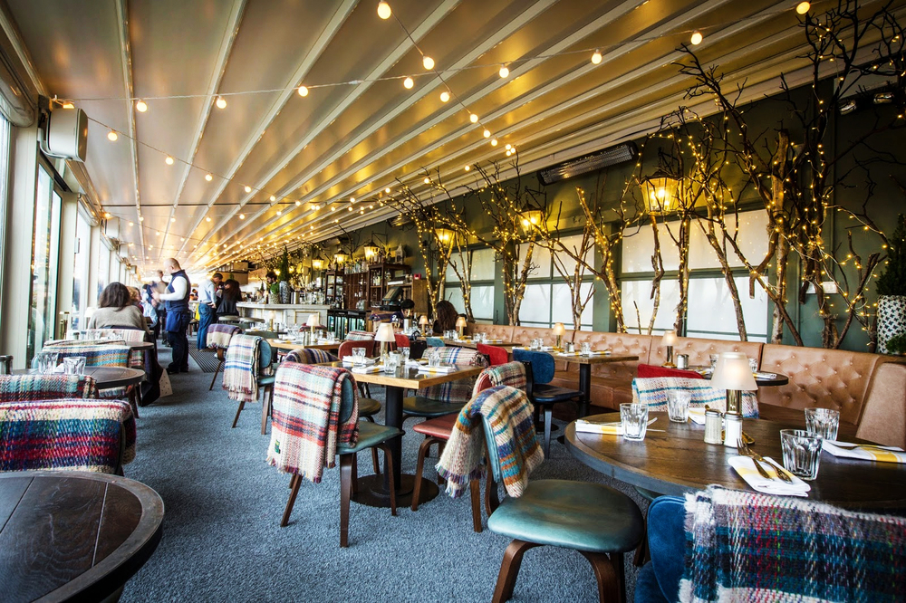 discover and escape selfridges le chalet q on the roof restaurant review