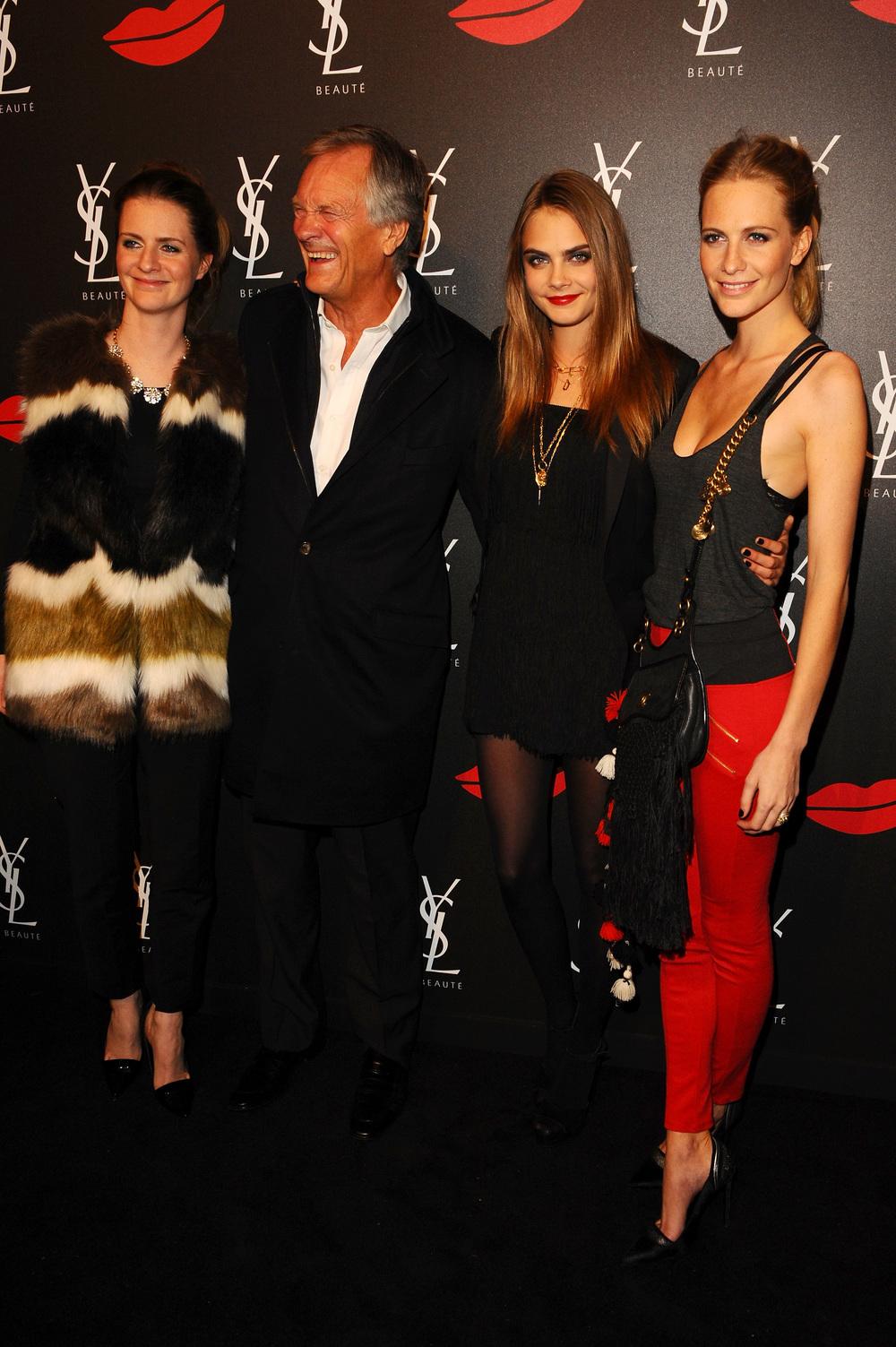 Chloe, Charlie, Cara & Poppy Delevingne