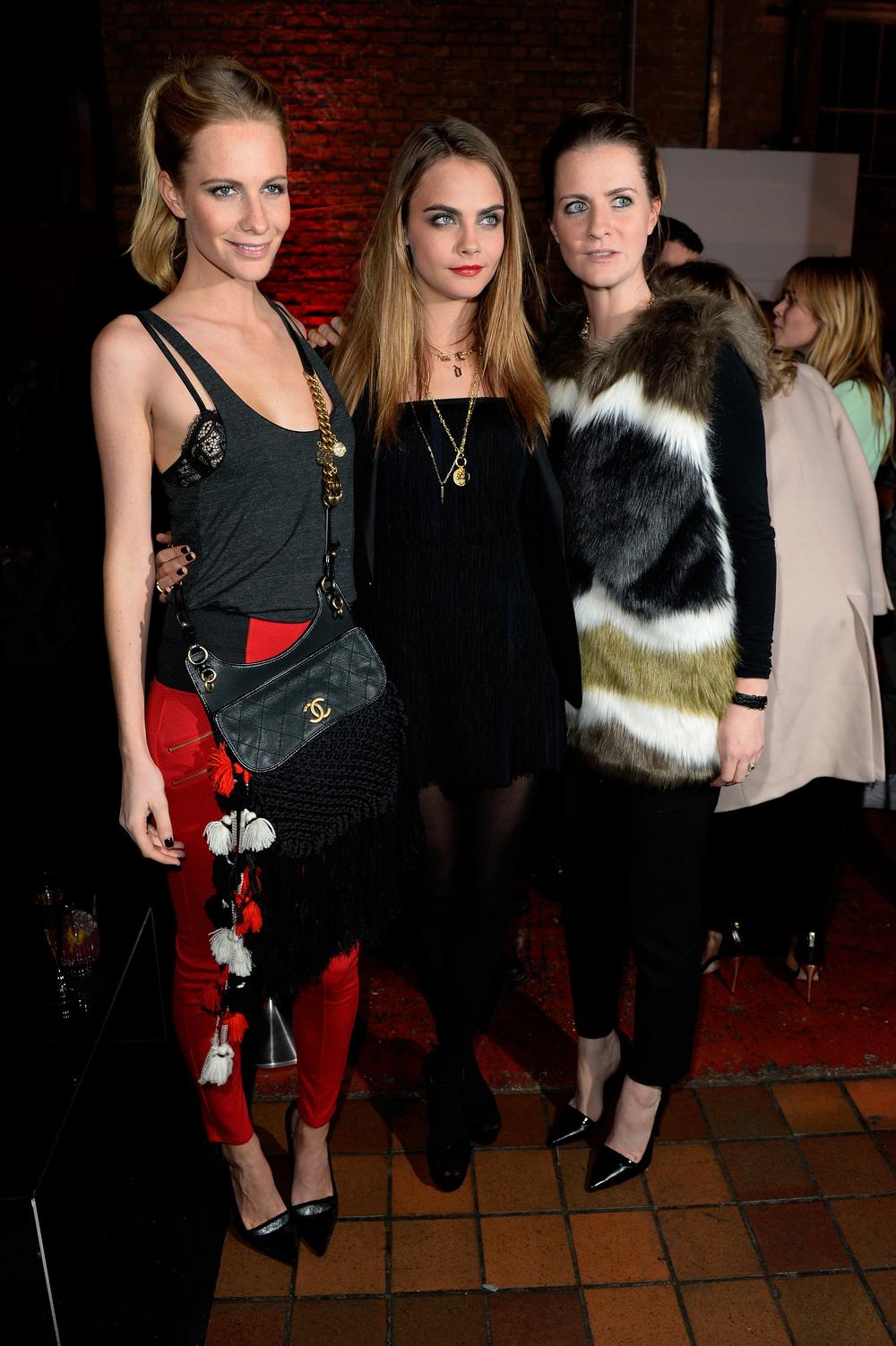Poppy, Cara & Chloe Delevingne