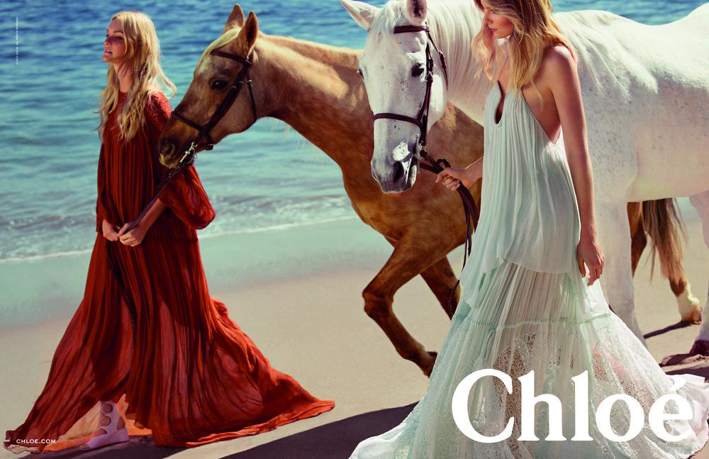 Chloe SS15 Campaign Inez & Vinoodh Discover & Escape 2015