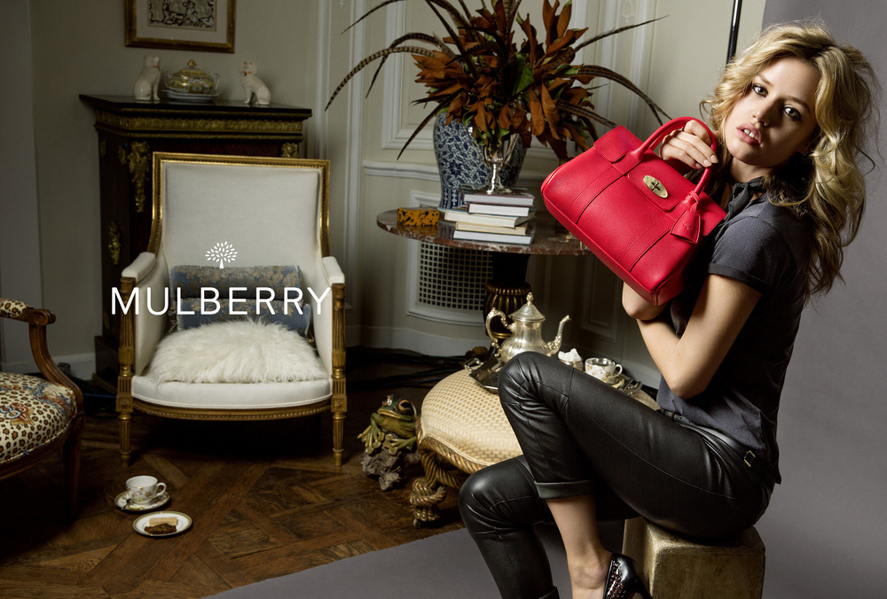 Georgia May Jagger for Mulberry SS15 Discover and Escape