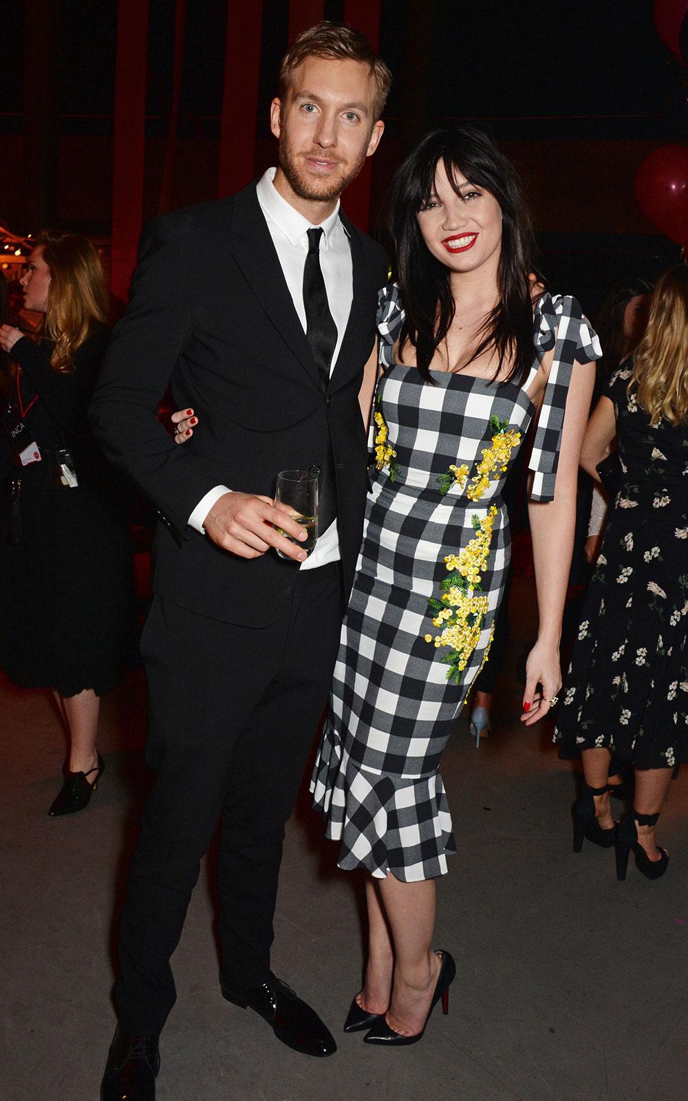 Calvin Harris & Daisy Lowe