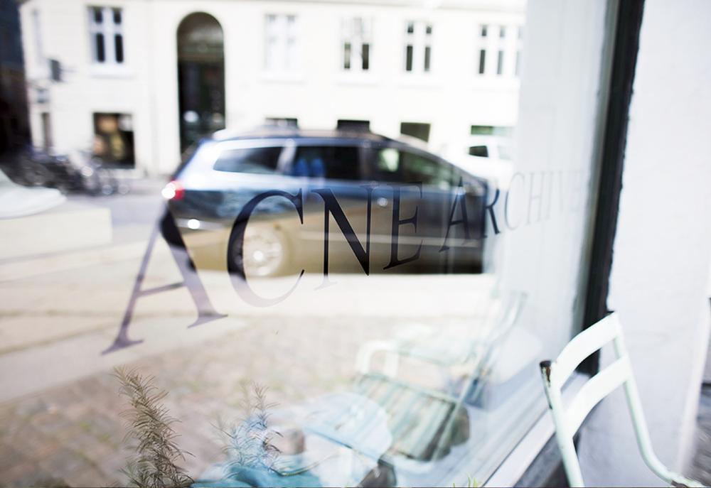 Acne Archive Copenhagen City Guide 2015