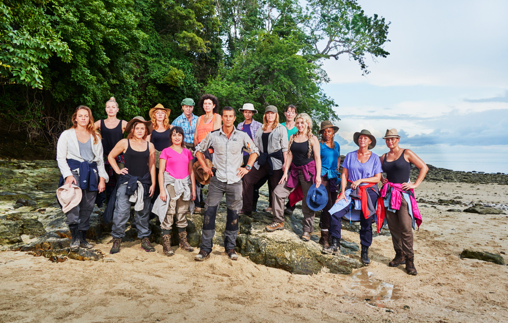 Bear Grylls The Island Women's Island 2015 Series 2