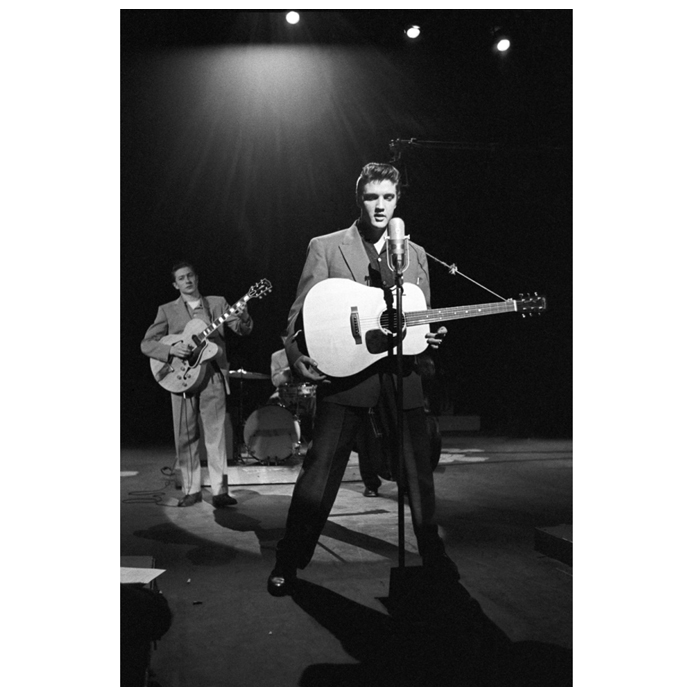 Elvis photograph by Alfred Wertheimer